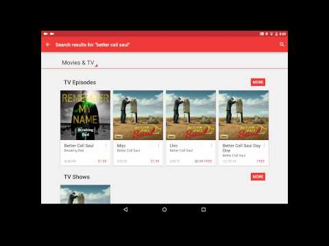Get free TV shows on Google play movies now too