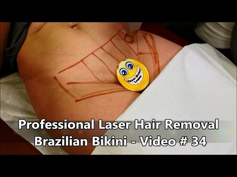 Professional Laser Hair Removal - Brazilian Bikini - Video # 34 thumbnail