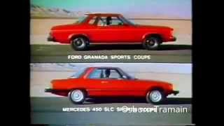 1976 Ford Granada Coupe Commercial Compares to Mercedes Benz
