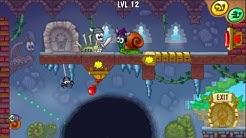 Snail BoB 7! - Fantasy Story - FULL WALKTHROUGH - All Levels [3 STARS] - HD