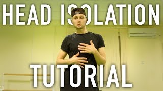 How to do Head Isolation | Hip Hop Dance Moves Tutorial @oleganikeev КРУТОЕ ДВИЖЕНИЕ