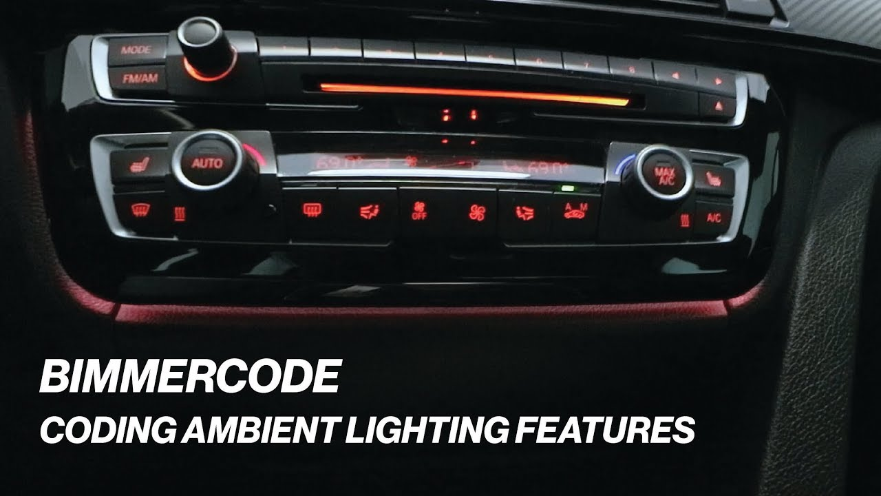 BIMMERCODE: CODING AMBIENT LIGHTING FEATURES!