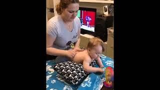 Дренажный массаж (массаж при кашле) для детей и взрослых от 0 о 100+