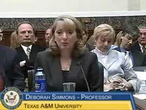 Reading First Hearing: Dr. Deborah Simmons testimony