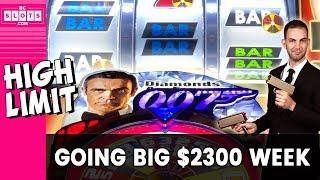 Baixar 🤑 Going BIG High Limit 💰 $2300 @ Mohegan Sun CT ✪ BCSlots (S. 12 • Ep. 1)