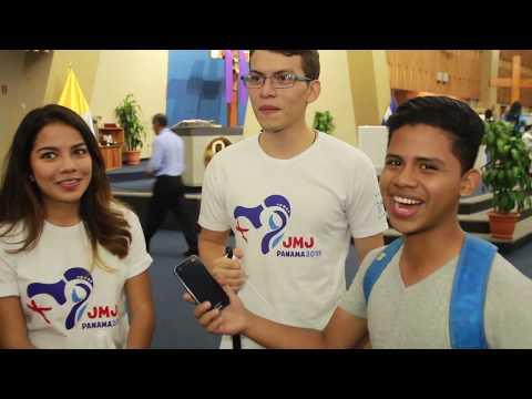 Los Símbolos de la JMJ llegaron a la Arquidiocesis de San Salvador -Callejeros de la Fe