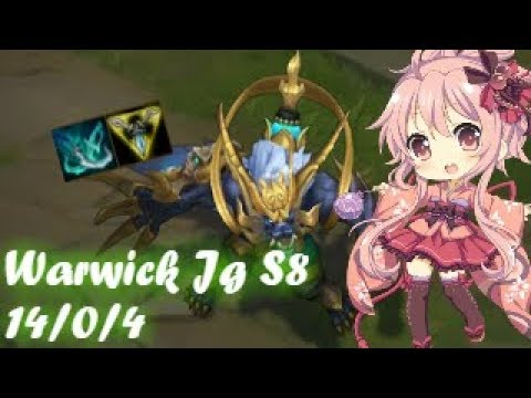S8 Warwick jg vs Vi l PERFECT KDA l WW Lunar Revel l Run! Warwick Run!