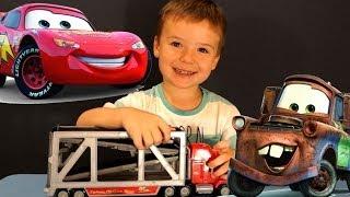 Тачки Маквин. Іграшки з мультика Disney Pixars Cars. Машинки для дітей.
