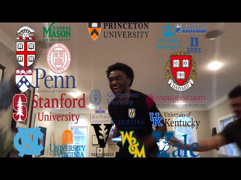 College Decision Reactions 2019(Brown, Columbia, Cornell, Yale, Duke, Princeton, Upenn, Harvard)