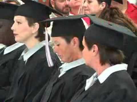 Mabel Bassett's First Electricians Graduate