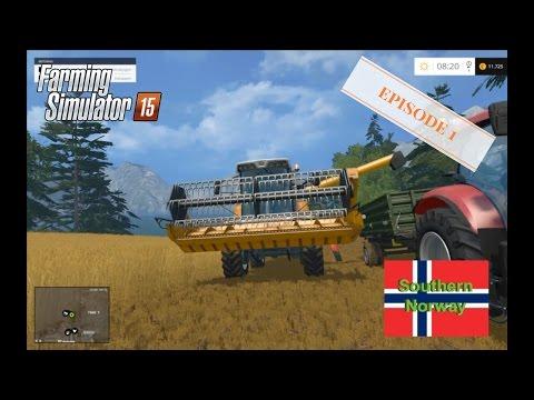 Farming Simulator 2015 Southern Norway Episode 1