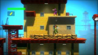 Bionic Commando Rearmed PS3 HD (Intro Area O & 1)