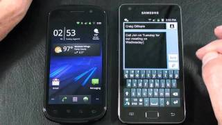 "Samsung Nexus S vs Samsung Galaxy S II ""Face Off"" Part 2"