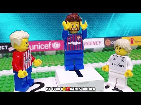 LA LIGA 2018/2019 • Top Goals LaLiga Santander 18/19 In LEGO Football Film