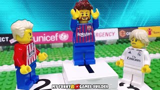 LA LIGA 2018/2019 • Top Goals LaLiga Santander 18/19 in LEGO Football Stop Motion Animation