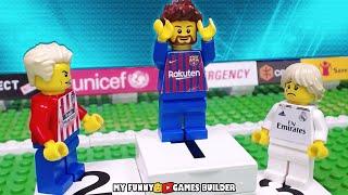 LA LIGA 2018/2019 • Top Goals LaLiga Santander 18/19 in LEGO Football Stop Motion Animation