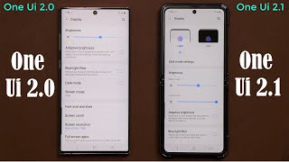 Samsung One Ui 2.1 (Galaxy S20 Ultra) vs One Ui 2.0 (Note 10 Plus) - What's New On Latest Version?