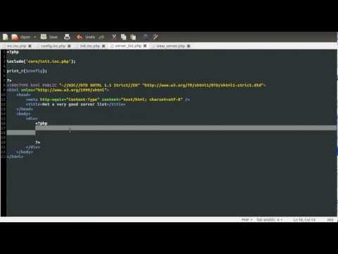 PHP Tutorial: Minecraft Server Information (No Plugins Needed) [part 01]