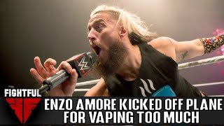 Enzo Amore Kicked Off Flight For Vaping And Not Following Instructions