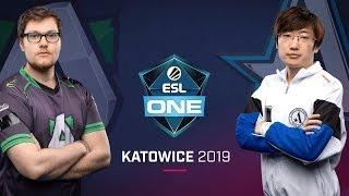 Dota 2 - Aliance vs. Aster - Game 2 - Group B R4 - ESL One Katowice 2019