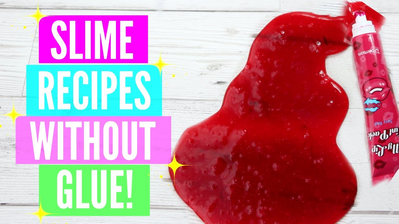 Testing Popular No Glue Slime Recipes! How To Make Slime Without Glue Or  Borax Tested