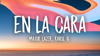 Major Lazer En La Cara Sua Cara Remix Feat Karol G