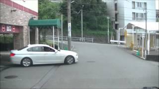 【FHD】名古屋市千種区覚王山のとにかく急な坂