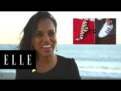 Kerry Washington Rapid Fire Questions | ELLE