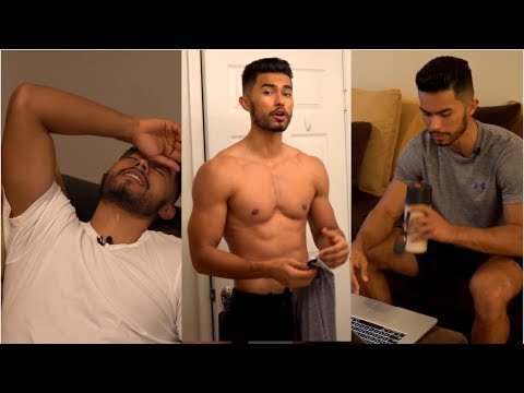 My Night Time Routine (Physique Update + Men's Grooming Tips)