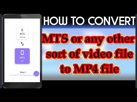 How to convert MTS or other forms of video files to MP4 files🤔|EASY METHOD| MTS-MP4 |ASJ EMPIRE YT|