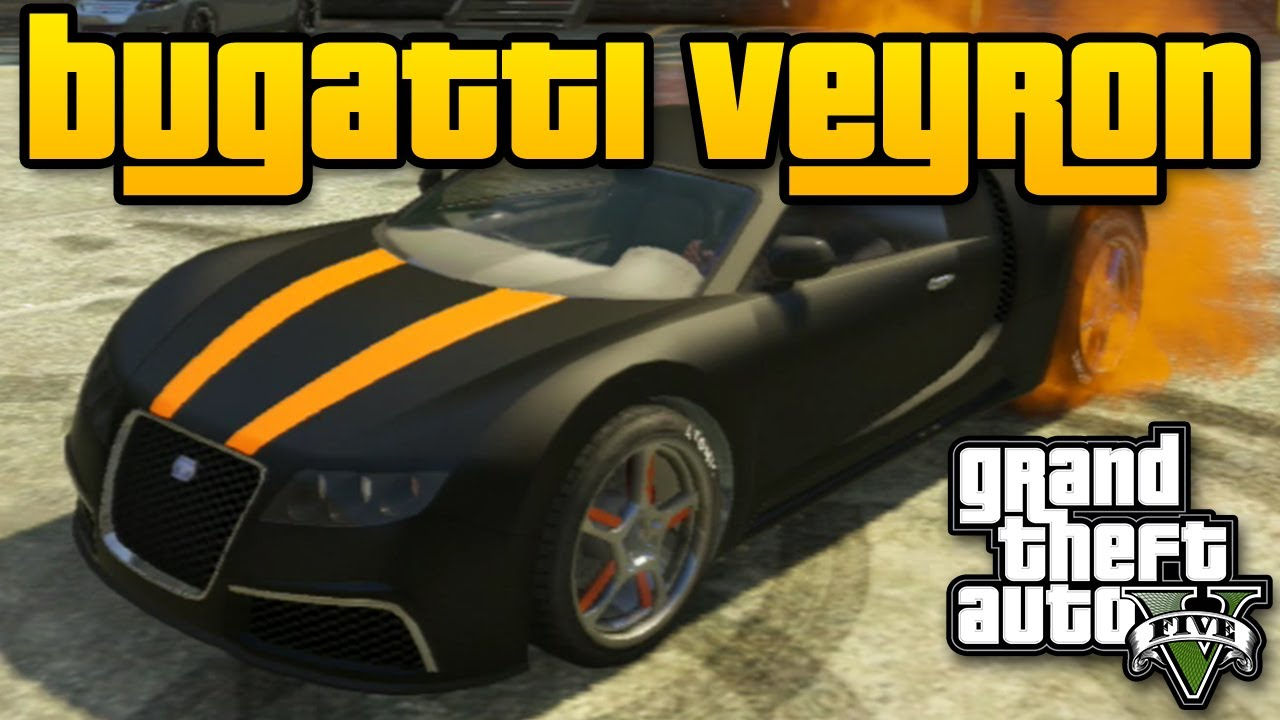 gta v adder bugatti veyron spawn location 1 000 000 car for free best car in gta 5 youtube. Black Bedroom Furniture Sets. Home Design Ideas