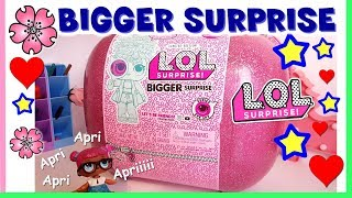 BIGGER SURPRISE Lol Surprise. Unboxing completo ITALIA by Lara e Babou