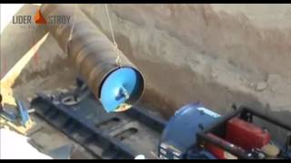 Шнековое горизонтальное бурение. Инсталляция бурошнековой установки (видео с объекта)(, 2015-02-12T18:50:15.000Z)