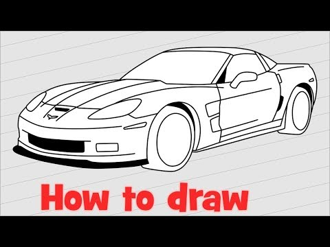 how to use onshaoe to draw a car