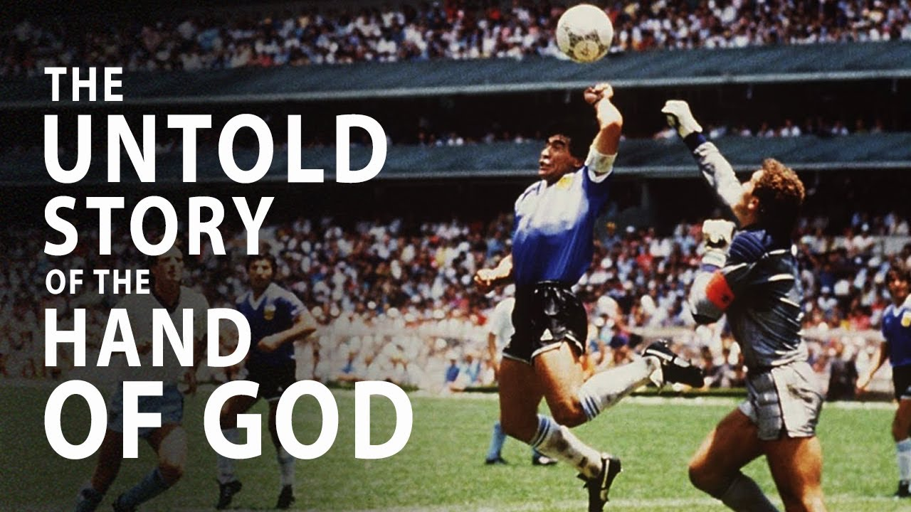 Maradona's 'Hand of God' Was More Than Just A Goal… - YouTube