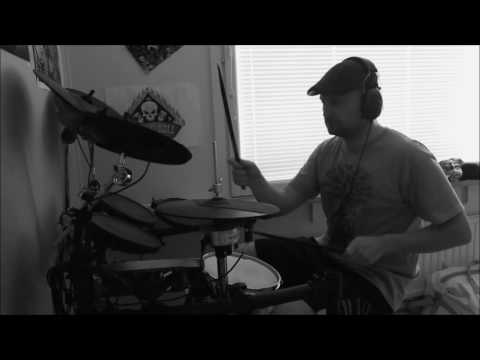 Slow driving Rock Jam - Drum cover by JP
