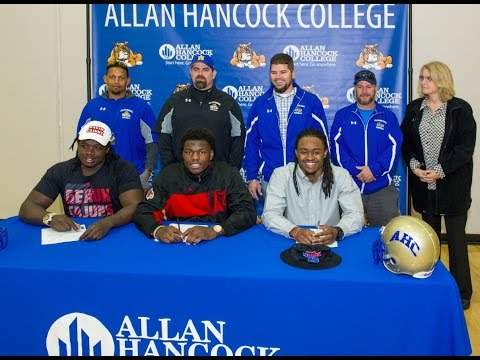National Signing Day 2016 at Allan Hancock College