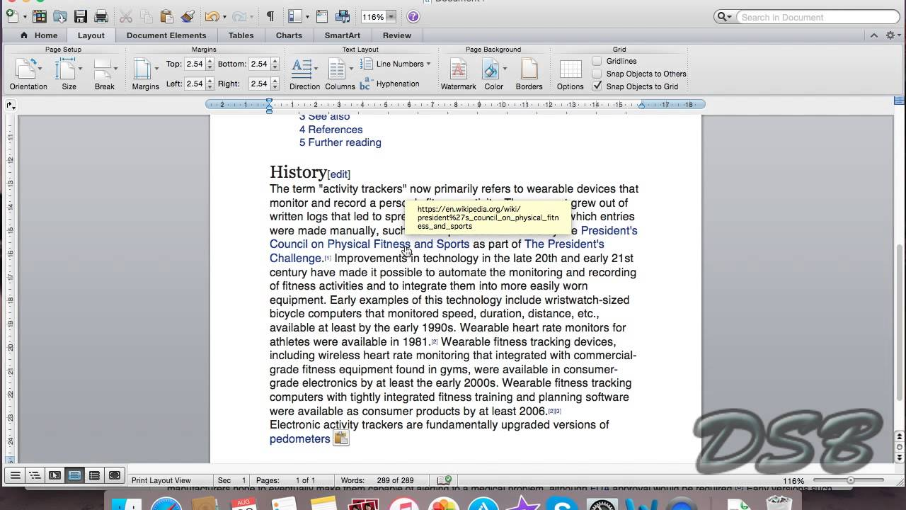 Removing all hyperlinks from word at once on mac