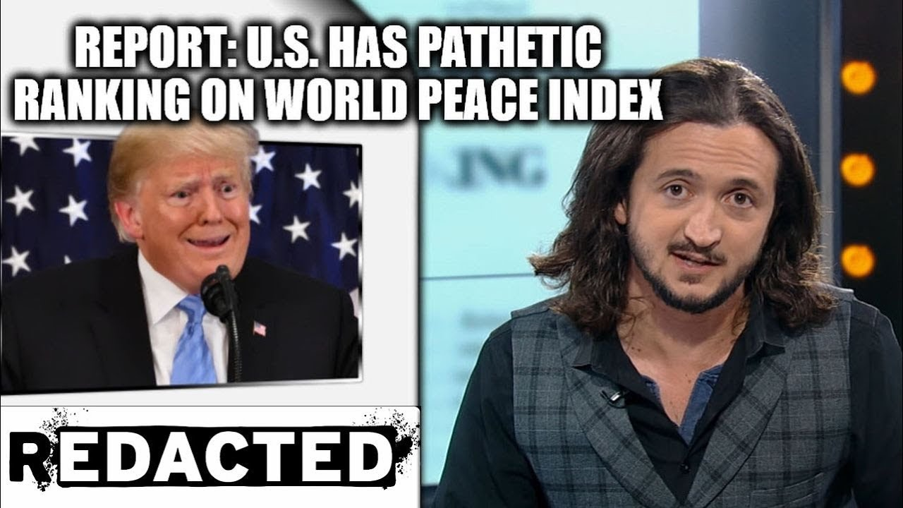 Report: U.S. Has Pathetic Ranking On World Peace Index