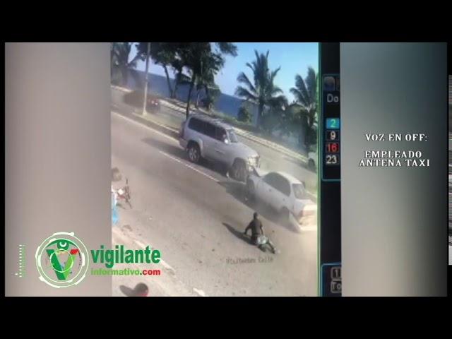 Taxista fue raptado y baleado por asaltantes