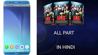 How to download scary movie all part in hindi