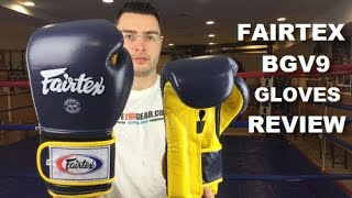 Fairtex BGV9 Muay Thai Boxing Gloves 16oz Review by ratethisgear