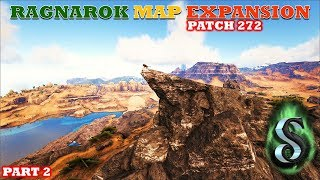 ARK PATCH 272: PRIDE ROCK! NEW METAL CAVE! PINK CRYSTAL WYVERN CAVE UPDATE - Exploration Part 2