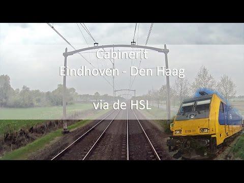 Cabinerit Eindhoven - Den Haag Centraal via de HSL