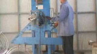 LADA Concrete pipe reinforce steel cage welding