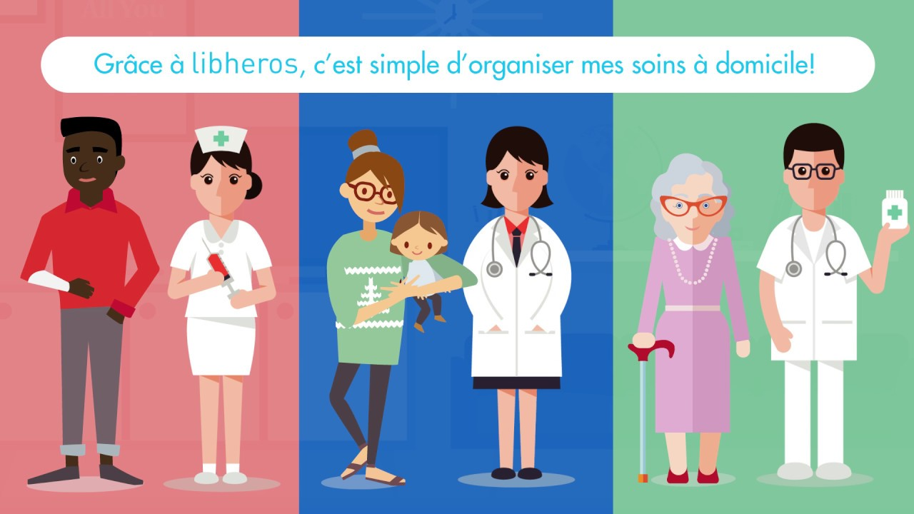 Comment trouver un infirmier à domicile grâce à Libhéros !