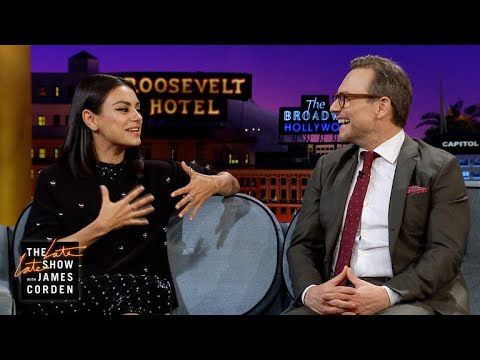 Mila Kunis & Christian Slater Are Addicted to Dating s