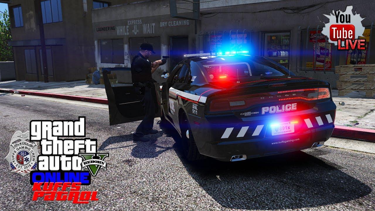 KUFFS LIVE! | GTA 5 LSPDFR Multiplayer FiveM COPS Patrol (KUFFS Gaming  Server - kuffsgaming com)