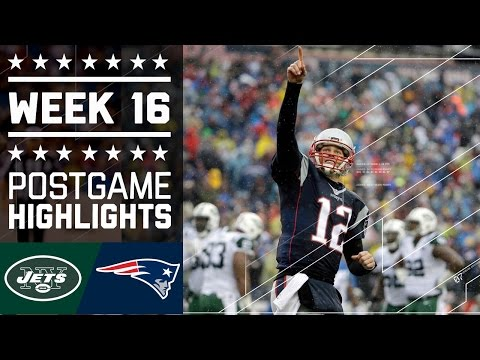 Jets vs. Patriots | NFL Week 16 Game Highlights