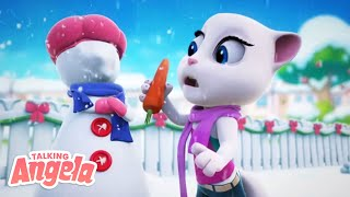 Download ❄️✨ 3 Winter Days ✨❄️ Talking Angela SHORTS Combo Mp3 and Videos